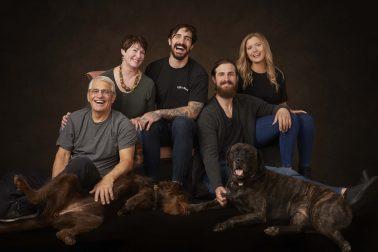 In Studio Family Portrait Session